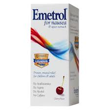 How does emetrol (domperidone) work on the human body